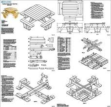 Free Octagon Picnic Table Plans by Picnic Table Plans Free Large Greenhouse Blueprints Free Steel