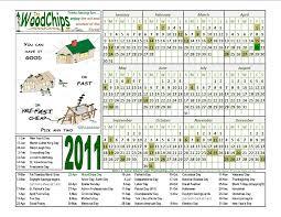 calendars 2011 the woodchips