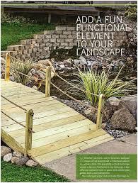 garden bridge design home outdoor decoration