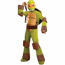 Ninja Turtle Halloween Costume Women Teenage Mutant Ninja Turtles Michelangelo Child Halloween Costume