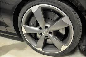 audi titanium wheels audi 20 5 spoke rotor wheels in titanium gr panjo