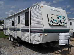 Fleetwood Wilderness Travel Trailer Floor Plans Fleetwood Wilderness 31g Rvs For Sale