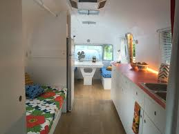 Interiors Of Tiny Homes A 1972 Airstream Is Transformed Into A Brooklynite U0027s Colorful Live