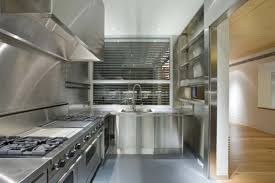 stainless steel modern kitchen design with modern style like