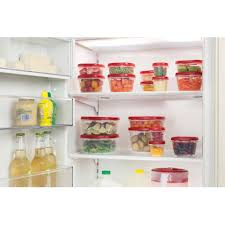 rubbermaid black friday sale rubbermaid easy find lids food storage container set 24 piece
