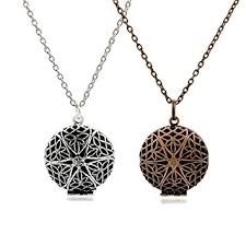 antique necklace chains images Set of 2 aromatherapy essential oil diffuser necklace jpg