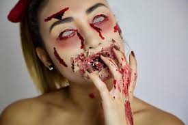easy halloween makeup tutorial gore sfx u2013 makeup foundry
