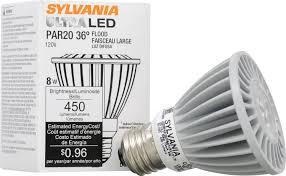 sylvania 78426 ultra led 8 watt 35w par20 dimmable bulb led