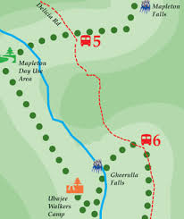 Gardeners Falls Maleny - the hinterland great walk montville getaways