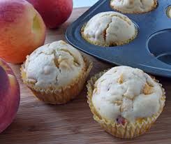 mystery lovers u0027 kitchen low fat peach muffin recipe a