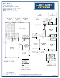 garrett walker homes grand manor community this floor plan shows