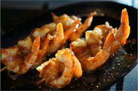 que cuisiner a la plancha recette gambas et ventrèche cuisiner à la plancha gambas à la