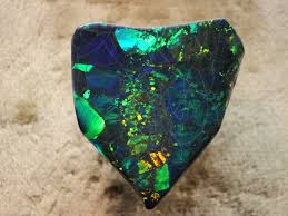 black opal black opal a fairly large piece of lightning ridge austra u2026 flickr