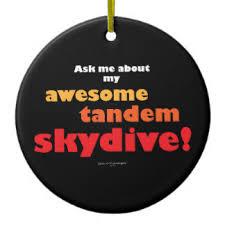 66 skydive ceramic christmas decorations zazzle co uk