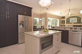 Different Colored Kitchen Cabinets Kitchen Fixtures Xx13 Info