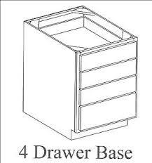 3 Drawer Base Cabinet Base Cabinets Kitchens U2022 Baths U0026 Unfinished Furninture