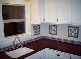 painting kitchen backsplash ideas painted kitchen backsplash tiles arminbachmann