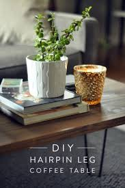 Diy Coffee Tables by Best 25 Hairpin Leg Coffee Table Ideas On Pinterest Diy Metal