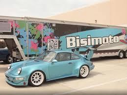 bisimoto porsche 996 putting a hyundai engine into a porsche 911 is the most backwards