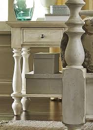 high country white chair side night stand from liberty 697 br62