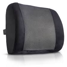 amazon com king comfort lumbar support pillow u2013 deluxe lower back