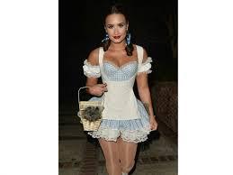 wizard oz dorothy costume check out demi lovato u0027s take on her dorothy costume men u0027s
