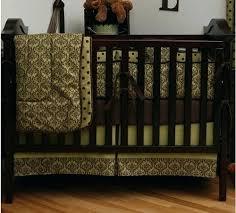 Pink And Brown Damask Crib Bedding Damask Crib Bedding Sets White Pink And Gray Damask Baby
