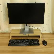 computer monitor riser 19 5 inch monitor laptop stand desktop