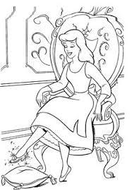 princess cinderella color pages printable disney princess