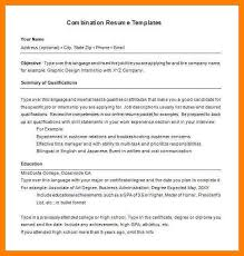 combination resume template free write a leaflet ppt