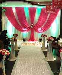 wedding backdrop images 3m 6m wedding backdrop with swags valance party background cloth