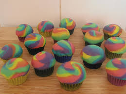 rainbow tie dye cupcakes cakecentral com