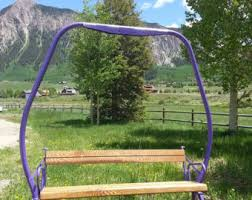 Lift Bench Vintage 60 U0027s Ski Lift Chair With Legs From Crested Butte