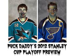 San Jose Sharks Meme - st louis blues vs san jose sharks puck daddy s nhl 2012 stanley