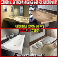 Commercial Bathroom Sinks Commercial Restroom Sinks Are Functional U0026 Cost Effective