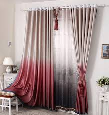 Red Curtains In Bedroom - august 2016