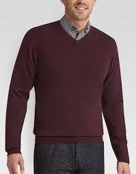 v neck sweater s joseph abboud wine v neck sweater s sweaters