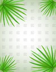 palm tree leaves background vector image 111661 u2013 rfclipart