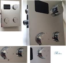 Bath Shower Thermostatic Mixer Shower Body System Shower Massage Panels Fontana Shower Pane