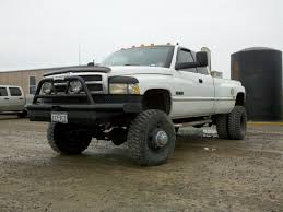 cummins truck lifted 1997 4x4 dodge dually 8