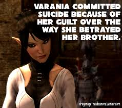 Dragon Age Meme - dragon age headcanon varania s fate by pariswriter on deviantart