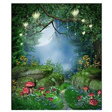 Forest Backdrop Amazon Com Fantasy Forest Background Toogoo R 5x7ft Fairy
