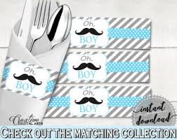 baby shower mustache theme mustache baby shower etsy