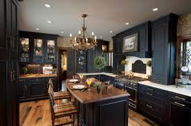 Black Cabinet Kitchen Ideas by Elegant Black Kitchen Cabinets Video And Photos Madlonsbigbear Com