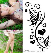 body art wterproof temporary tattoos for men and women simple 3d