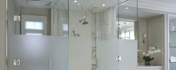 glass shower door splash guard custom shower enclosures renin canada corp