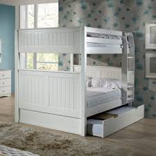 Bunk Bed With Trundle And Drawers Modern Bunk Beds Allmodern