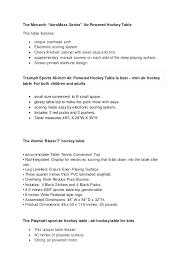 Air Hockey Table Dimensions by 10 Best Air Hockey Table