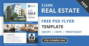 real estate brochure templates psd free download 5 professional