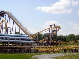 6 Flags Maryland Batwing Roller Coaster Wikipedia